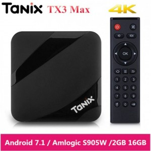 Tanix TX3 Max IPTV Box 2GB RAM 16GB ROM 4500+ HD TV Channel