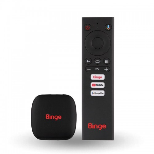 Binge Android TV Device with Chromecast Built-in