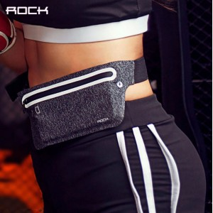 ROCK Sports Running Slim Waist Bag 6 Inch