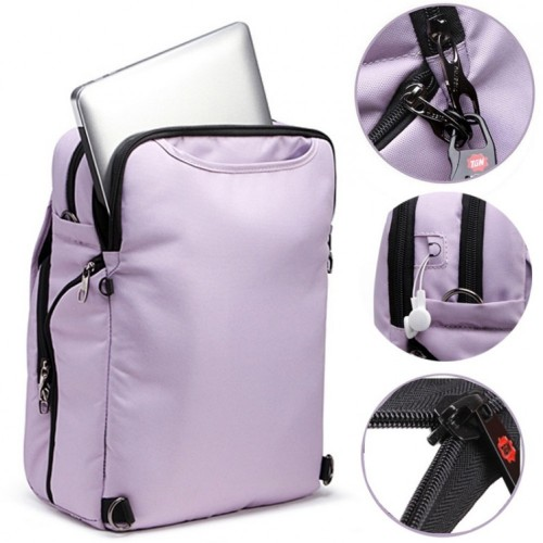 Women's Multifunction Tigernu Fashion Korean Style Backpack