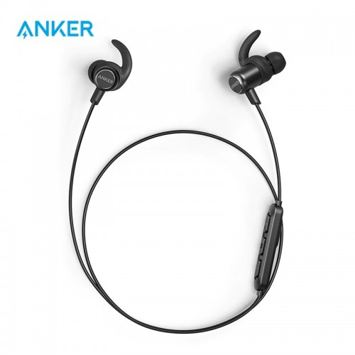 Anker SoundBuds Slim+ Plus Water Resistant Wireless Headphones