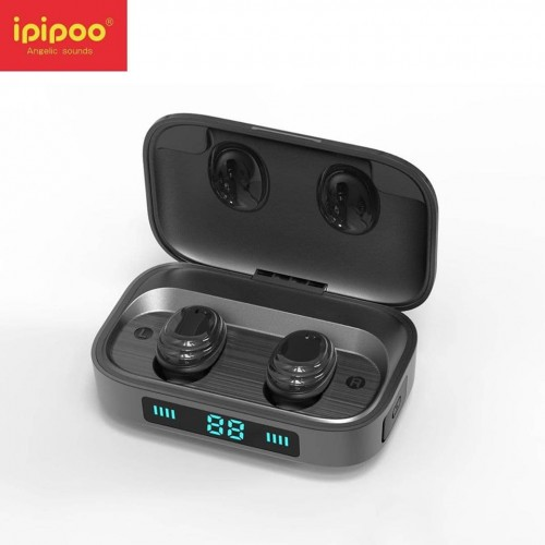 ipipoo TWS Earbuds Waterproof With 2000mAh Powerbank Full Touch