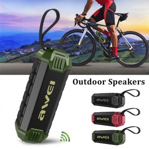 Awei Y280 Outdoor Waterproof Bluetooth Speaker With Power Bank Function