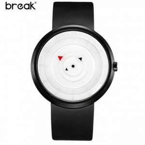 Break Suprime Waterproof Rubber Band Watch White