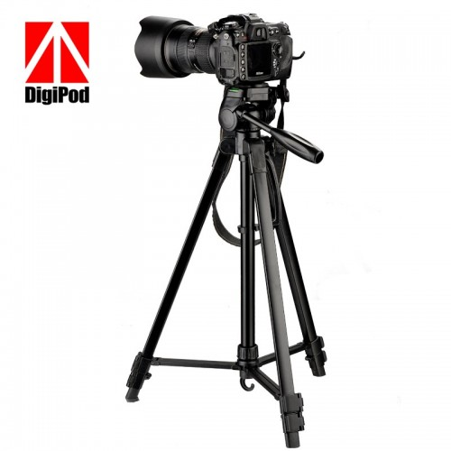 DIGIPOD TR472 Professional Tripod 3 Way Panhead Ball Head with Bubble Level