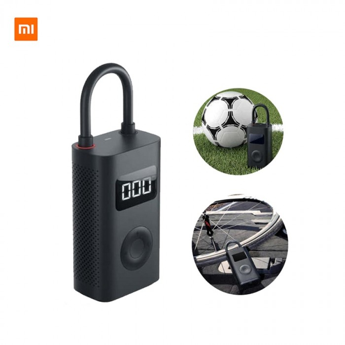 Xiaomi Mijia Portable Smart Digital Tire Pressure Detection Electric Inflator Pump – Black