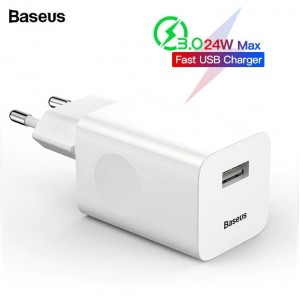 BASEUS 24W Wireless Charging Quick Charger