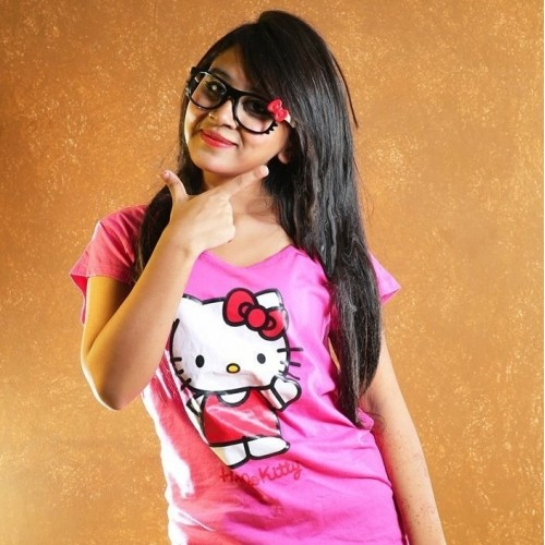 Hello Kitty T-Shirt For Girls Export Quality
