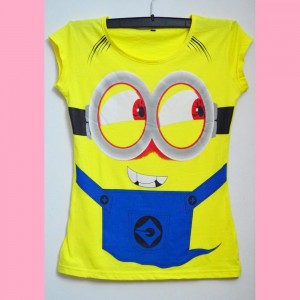 Minion T-Shirt For Girls Export Quality