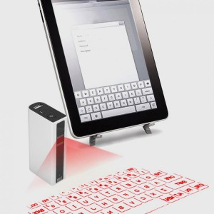 Laser Keyboard With 5200mah Power-Bank