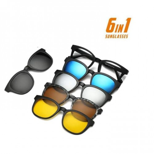 6 in 1 Magnative Sunglass