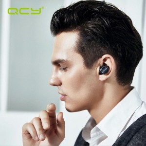 QCY Super Mini Bluetooth 4.1 Headset Black
