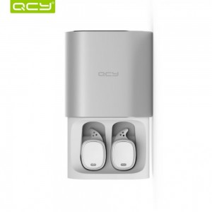 QCY T1 PRO Business Bluetooth Earphone With Mic Charging Box