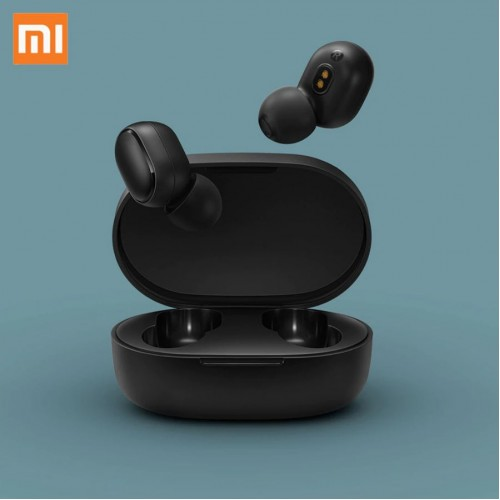 Xiaomi Redmi AirDots Dual Headset Bluetooth 5.0 With Mic Black-White