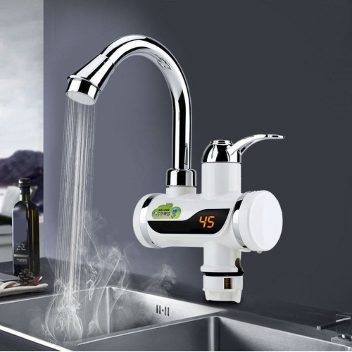 DIGITAL INSTANT HOT WATER TAP FOR BASIN