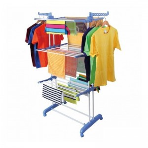3 layer cloth rack
