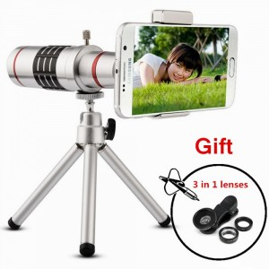 18x Zoom Mobile Lens With Blur Effect For All Mobile