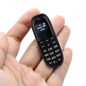 Mini KK1 Mobile Phone 0.66 Inch With Bluetooth Headset