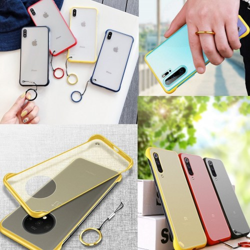 Frameless Mobile Cover With Ring