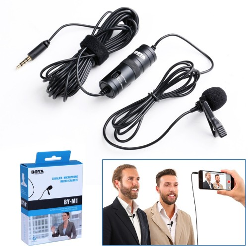 Boya-M1 Microphone for DSLR & Mobile
