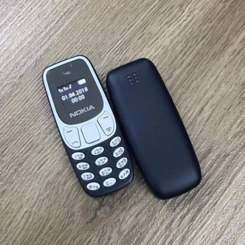 Nokia 3310 Mini Mobile Phone DUAL SIM Navy-Blue Black
