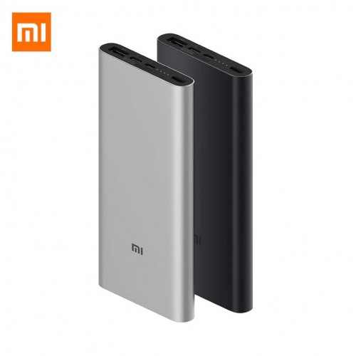 Original XIAOMI 10000mAh Power Bank 3 With 2-way USB-C 18W Fast Charging