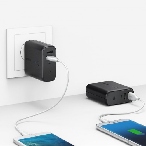 Anker PowerCore Fusion 5000 2-in-1 Portable Charger and Wall Charger