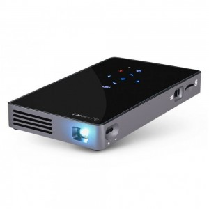 Mini Rechargeable 3000 Lumens 4K Full HD Home Office LED Android Projector