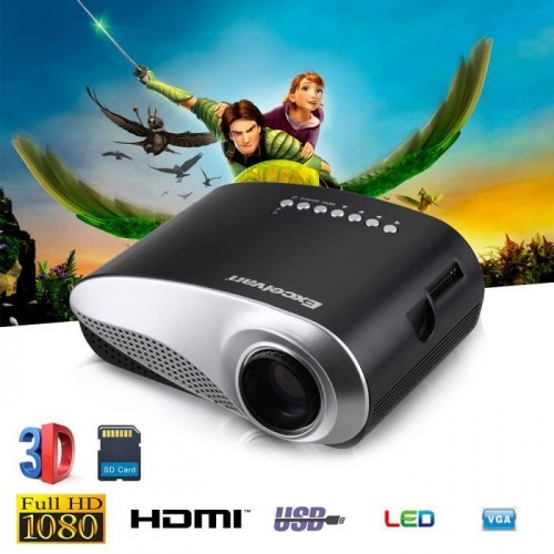 RD-802 MINI LED PROJECTOR (Built In TV)
