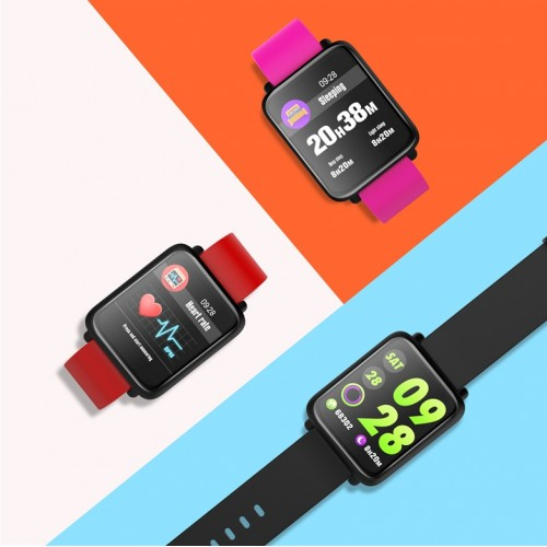 M28 Waterproof Heart Rate Blood Pressure Smartwatch