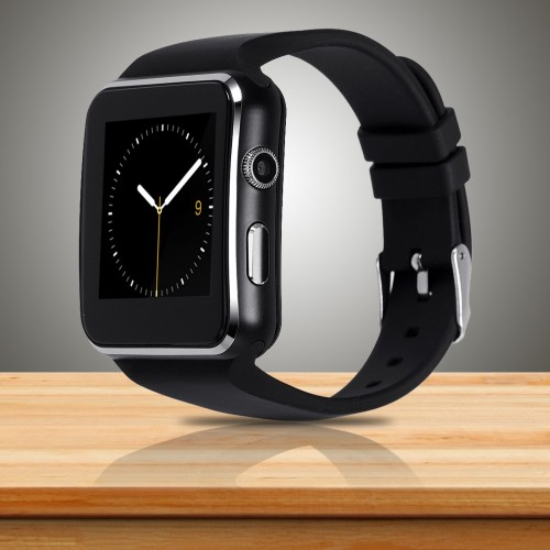 X6 Bluetooth Smart Watch With Camera FM SIM Memory Card